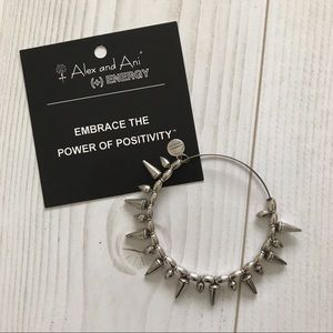 ALEX & ANI Spike of Courage in Silver - RARE